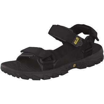 Jack Wolfskin Seven Seas Men Outdoor Sandale schwarz