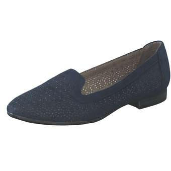 Slipper - Jana comfort Slipper Damen blau  - Onlineshop Schuhcenter