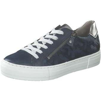 Halbschuhe für Frauen - Jenny Canberra Schnürer Damen blau  - Onlineshop Schuhcenter