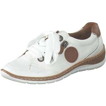 Halbschuhe für Frauen - Jenny Gil Schnürer Damen weiß  - Onlineshop Schuhcenter