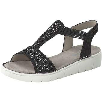 91a25393c8 Sandalen für Frauen - Jenny Korsika Sport Sandale Damen schwarz -  Onlineshop Schuhcenter