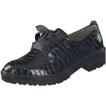 Halbschuhe für Frauen - Jenny Schnürer Portland Damen schwarz  - Onlineshop Schuhcenter