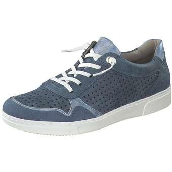 Halbschuhe für Frauen - Jenny Seattle Schnürer Damen blau  - Onlineshop Schuhcenter