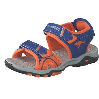 - KangaROOS K Track Sandale Jungen blau - Onlineshop Schuhcenter