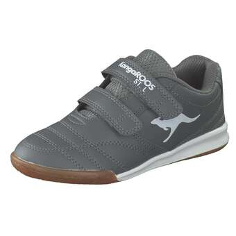 Minigirlschuhe - KangaROOS KangaYard 3020 Hallensport Mädchen|Jungen grau - Onlineshop Schuhcenter