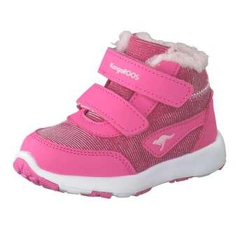KangaROOS Snowdrifter Lauflern Boots Mädchen pink