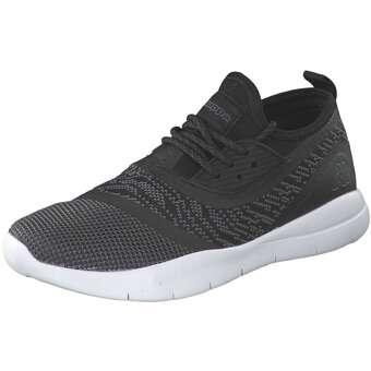 Layer Sneaker Damen schwarz