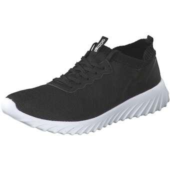Memni Sneaker Herren schwarz