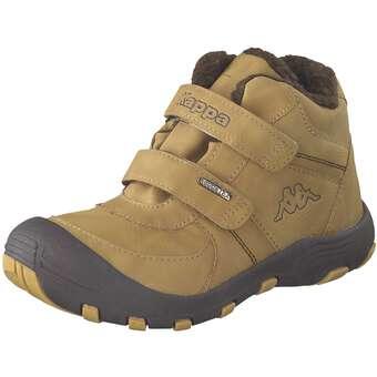 Minigirlschuhe - Kappa Solid Tex K Klett Boots Mädchen|Jungen gelb - Onlineshop Schuhcenter