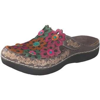 Clogs für Frauen - Laura Vita Sabot Damen bunt  - Onlineshop Schuhcenter
