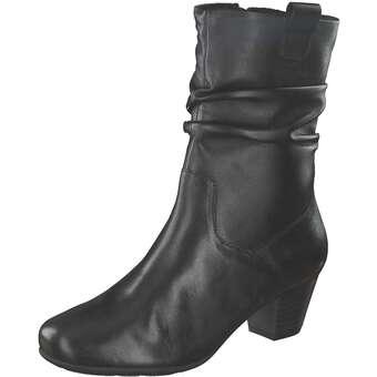 Leone Comfort Elfi Stiefelette Damen schwarz | Schuhe > Stiefeletten | Schwarz | Leder | Leone Comfort