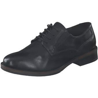 Leone Comfort Schnürer schwarz