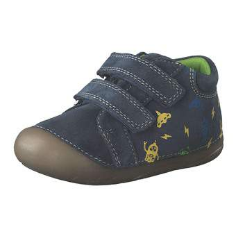 - Leone for kids Krabbelschuh Jungen blau - Onlineshop Schuhcenter