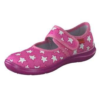 Minigirlschuhe - Leone Ballerina mit Klette Mädchen pink - Onlineshop Schuhcenter