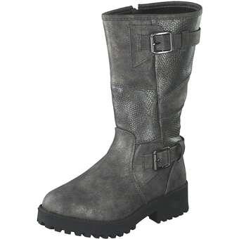 - Leone Lagschaftstiefel Mädchen grau - Onlineshop Schuhcenter