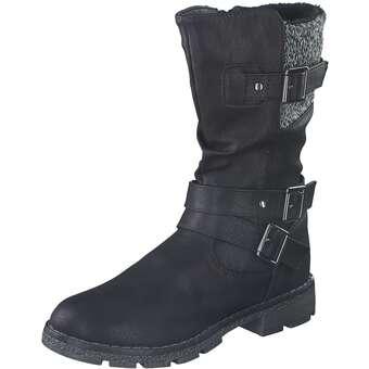 - Leone Langschaftstiefel Mädchen schwarz - Onlineshop Schuhcenter