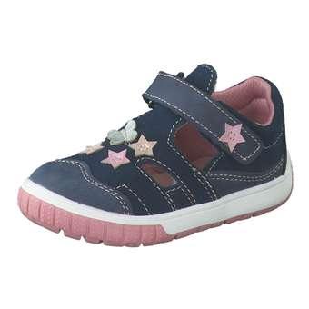 Minigirlschuhe - Leone Lauflern Sandale Mädchen blau - Onlineshop Schuhcenter