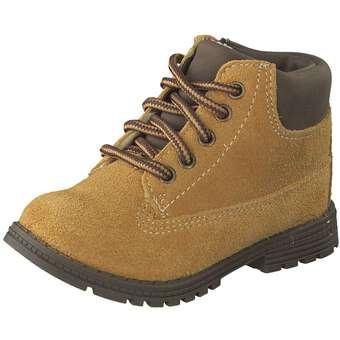- Leone Lauflern Schnürer Jungen gelb - Onlineshop Schuhcenter