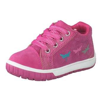 Minigirlschuhe - Leone Lauflern Schnürer Mädchen pink - Onlineshop Schuhcenter