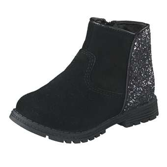 Leone Lauflern Stiefel Mädchen schwarz