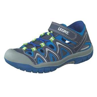 - Leone Sandale Jungen blau - Onlineshop Schuhcenter