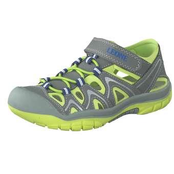 - Leone Sandale Jungen grau - Onlineshop Schuhcenter