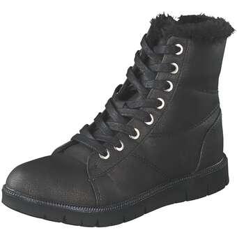 - Leone Schnür Boot Mädchen schwarz - Onlineshop Schuhcenter