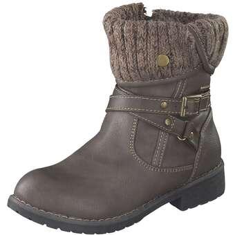 - Leone Stiefelette Mädchen beige - Onlineshop Schuhcenter