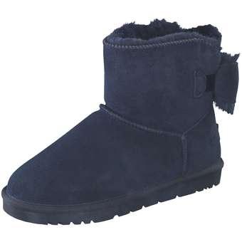 Leone Winter Boots Damen blau
