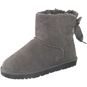 Leone Winter Boots Damen grau
