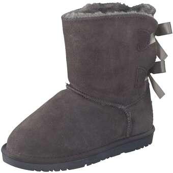 - Leone Winter Boots Mädchen grau - Onlineshop Schuhcenter