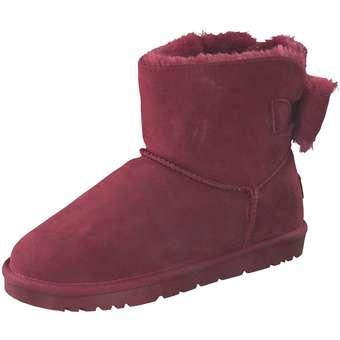 Leone Winter Boots Damen rot