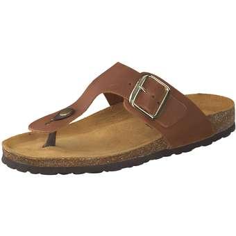 Leone Zehentrenner Damen braun | Schuhe > Sandalen & Zehentrenner > Zehentrenner | leone