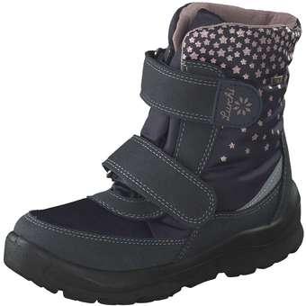 Minigirlschuhe - Lurchi Klett Boot Mädchen blau - Onlineshop Schuhcenter
