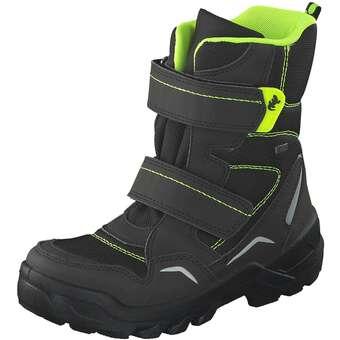 - Lurchi Klett Boots Jungen schwarz - Onlineshop Schuhcenter