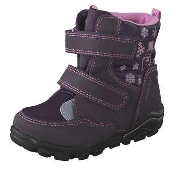 Minigirlschuhe - Lurchi Lauflern Boots Mädchen lila - Onlineshop Schuhcenter