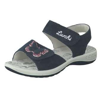 Minigirlschuhe - Lurchi Sandale Mädchen blau - Onlineshop Schuhcenter
