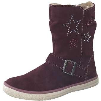 Minigirlschuhe - Lurchi Stiefel Mädchen lila - Onlineshop Schuhcenter