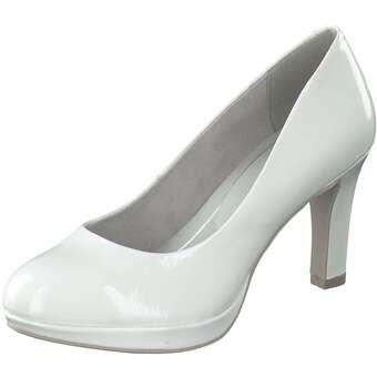 Pumps für Frauen - Marco Tozzi Pumps Damen weiß  - Onlineshop Schuhcenter
