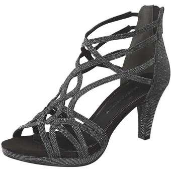 Marco Tozzi Sandale Damen schwarz