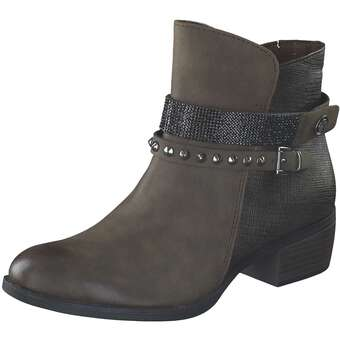 Stiefel für Frauen - Marco Tozzi Stiefelette Damen grün  - Onlineshop Schuhcenter