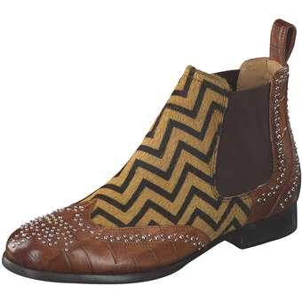 Stiefel für Frauen - Melvin Hamilton Sally 45 Stiefelette Damen braun  - Onlineshop Schuhcenter