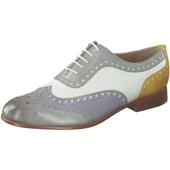 Halbschuhe für Frauen - Melvin Hamilton Schnürer Damen grau  - Onlineshop Schuhcenter