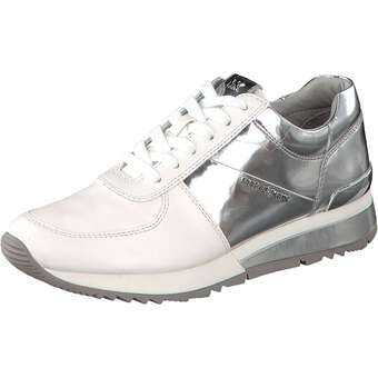 Michael Kors Allie Wrapp Trainer silber