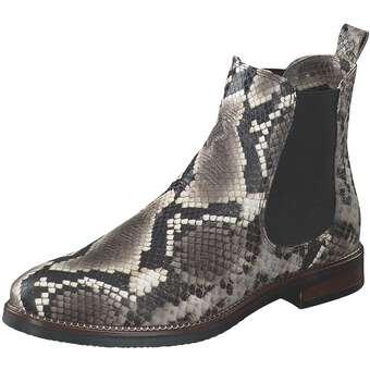 Mirror Chelsea Boots Damen grau | Schuhe > Boots > Chelsea-Boots | Grau | Leder | Mirror