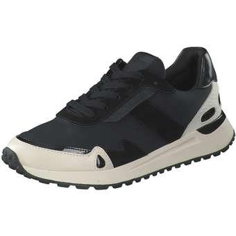 Monroe Trainer Sneaker Damen schwarz