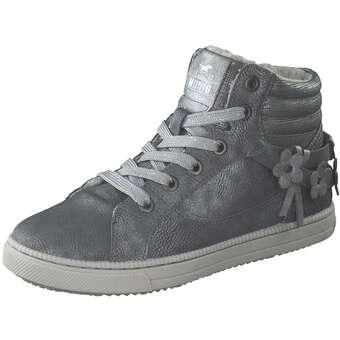 - Mustang High Sneaker Mädchen grau - Onlineshop Schuhcenter