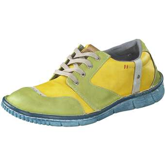 Halbschuhe für Frauen - Mustang Schnürer Damen grün  - Onlineshop Schuhcenter