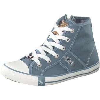 Mustang Sneaker High Jungen blau |
