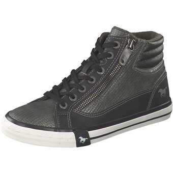 Sneaker High Damen grau